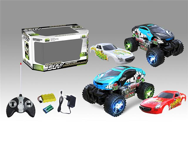 4ch Remote Control Off Road Bmw I8 Graffiti Car Open The Door With