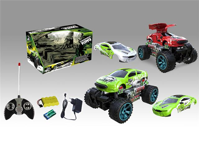 4ch Remote Control Off Road Ford Dinosaur Car With Bmw I8 Dinosaur